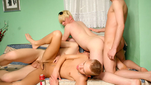 Memorable Gay Gangbang
