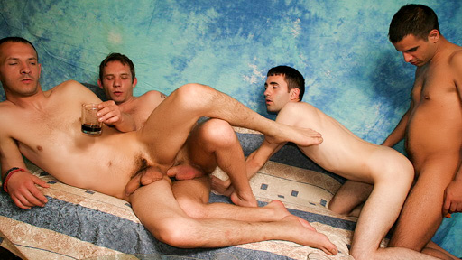 Wild Gay Groupsex